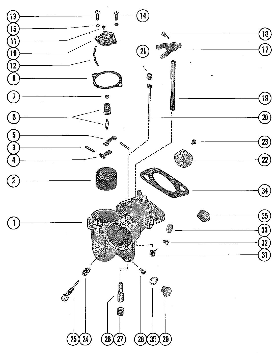 mercury 1150 wiring harness