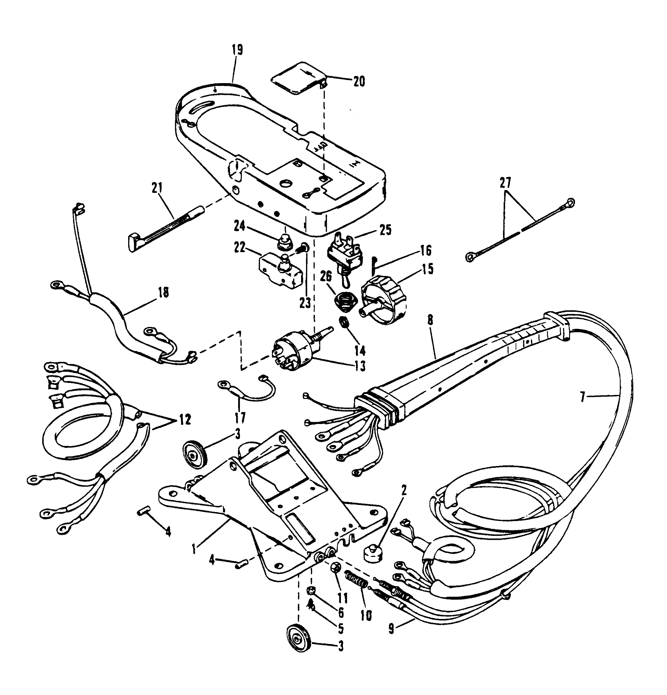 trolling motor wire harness