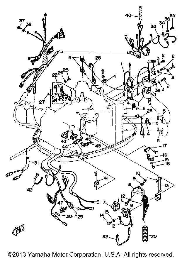 1978 mercury 115 outboard wiring diagram