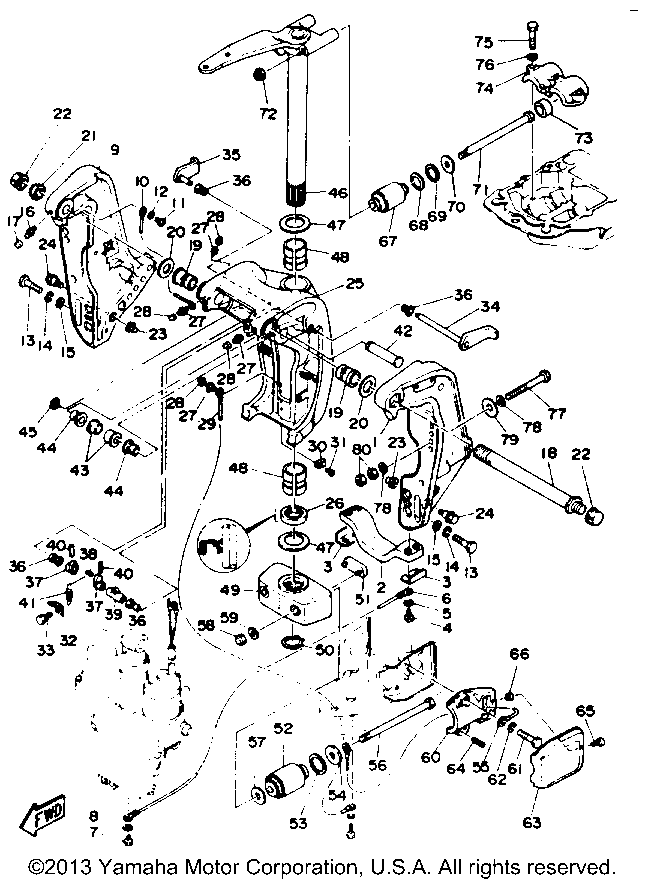 yamaha yfz 450 engine diagram