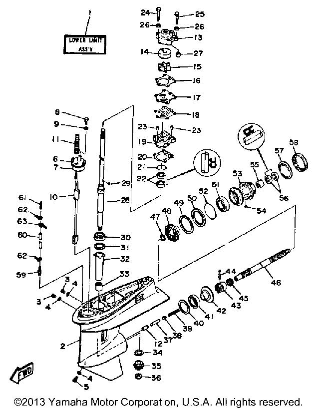1963 50 hp mercury outboard