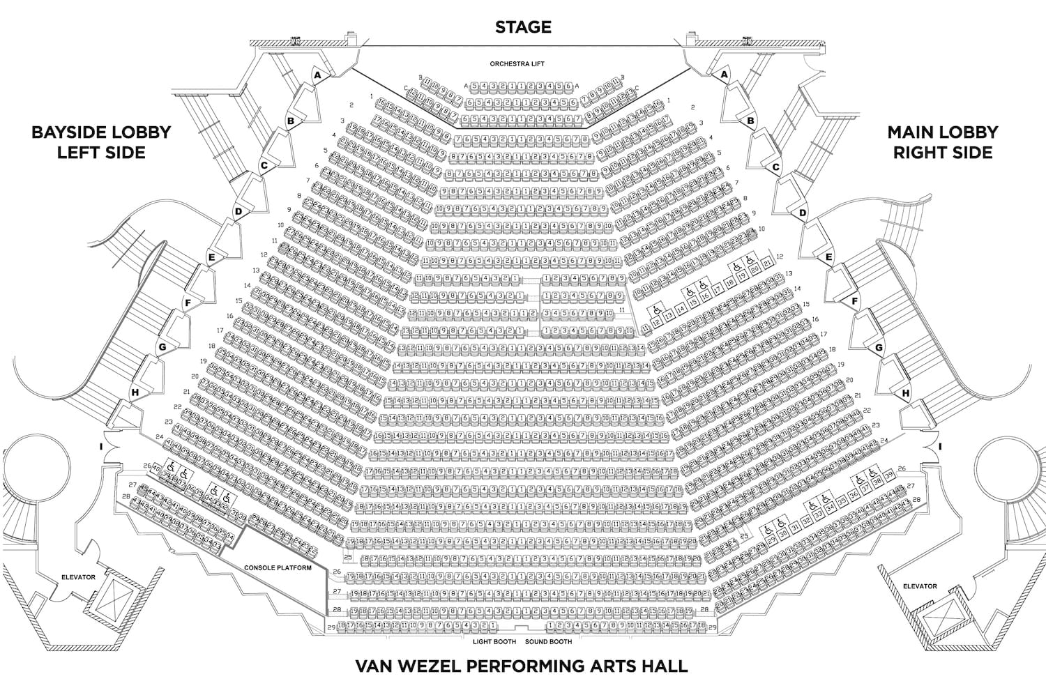 Sarasota, Florida - Van Wezel Performing Arts Hall