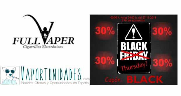 Full Vaper se adelanta al Black