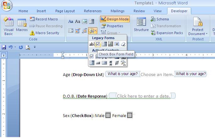 Creating editable forms in Microsoft Word VA Pro Magazine