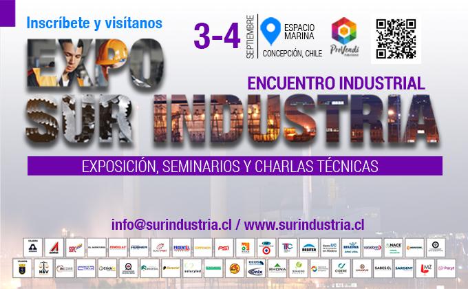 Variadores Chile presente en Expo Sur Industria – Concepción