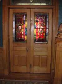 Original Stained Glass Doors