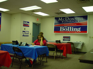 Volunteers Begin Making Calls