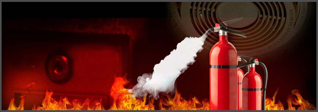 Fire Extinguisher Background