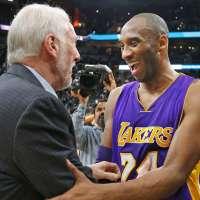 #NBA: il saluto di San Antonio a Kobe Bryant