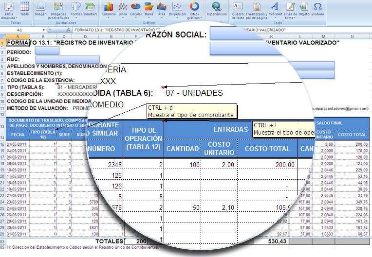 Plantilla en Excel de Kardex Valorizado \u2013 VBA Excel, Macros en Excel - formato inventario en excel