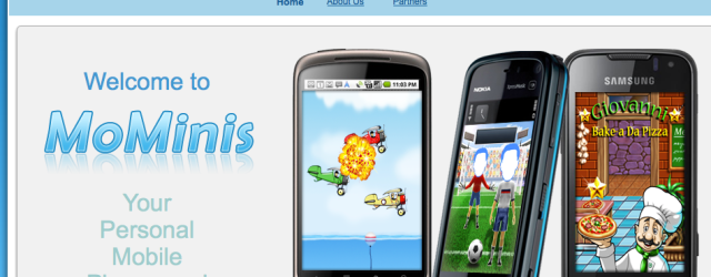 Mominis homepage