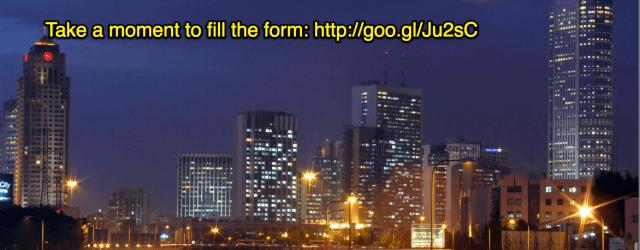 Tel Aviv skyline VC Cafe