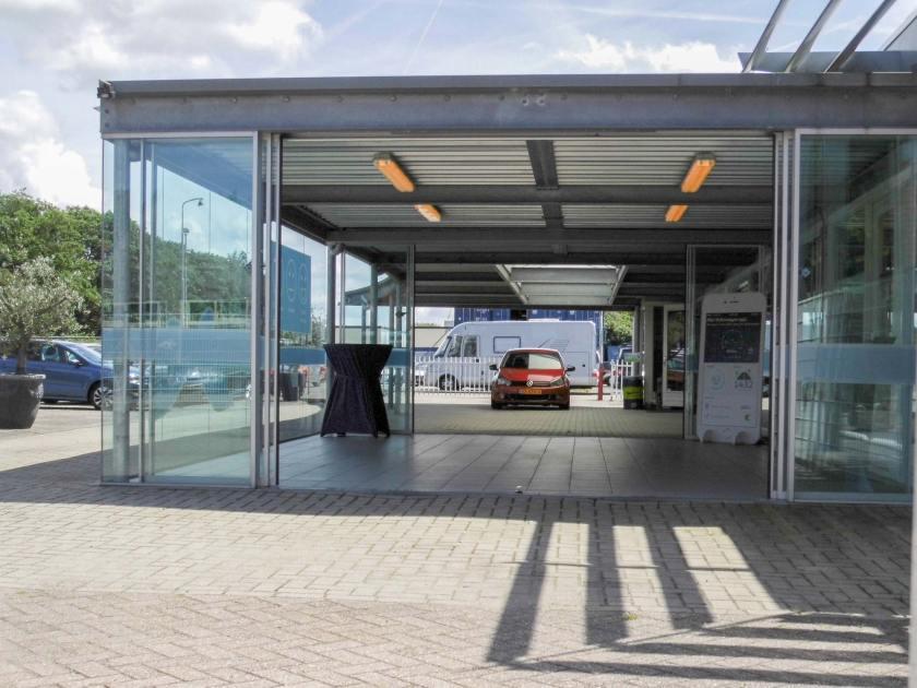Verbouw en uitbreiding Volkswagen garage / dealer