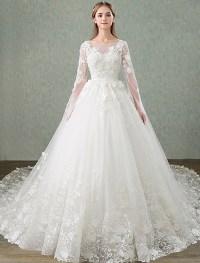 Princess Wedding Dresses 2017 Unique Sleeves Design ...