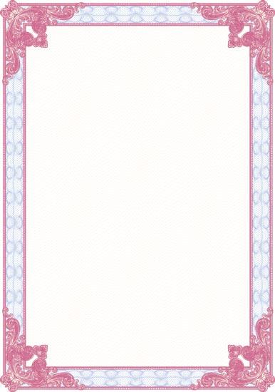 blank award certificates