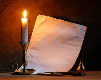 Mirror Wallpaper Hd Vintage Paper With A Candle Images