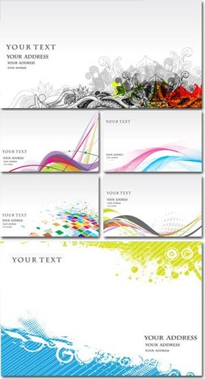 Letterhead and envelope vectors