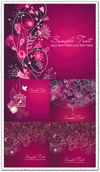 purple wedding invitations templates