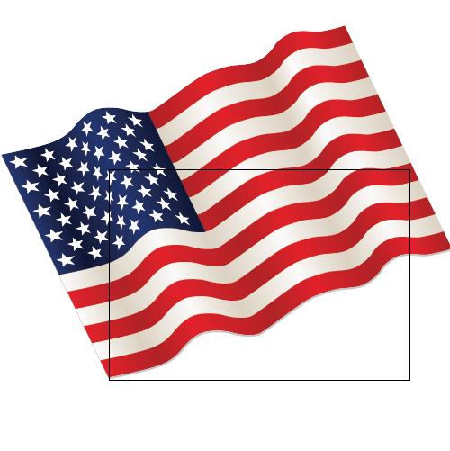 Illustrator Tutorial Waving Flag of the USA - Illustrator