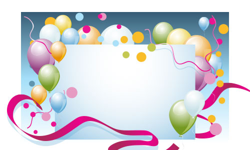 Illustrator Special Effects Party Invitation Background