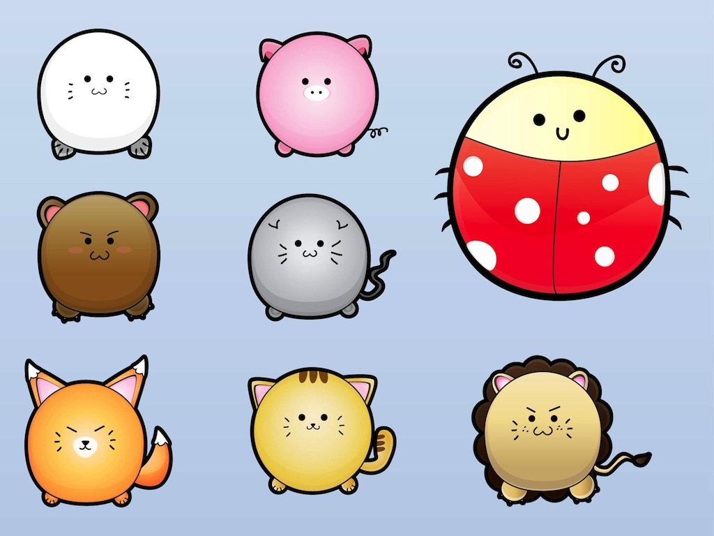 Cute Wallpapers Of Piglet And A Bunny Cute Animal Characters