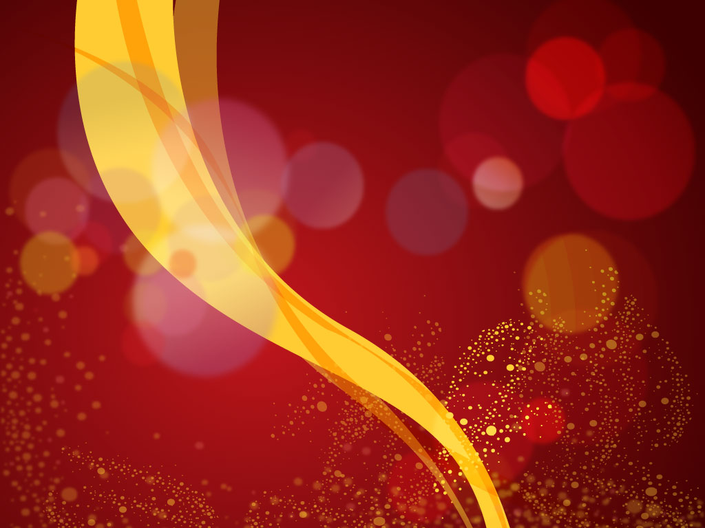 Stylish Car Wallpaper Red And Gold Background