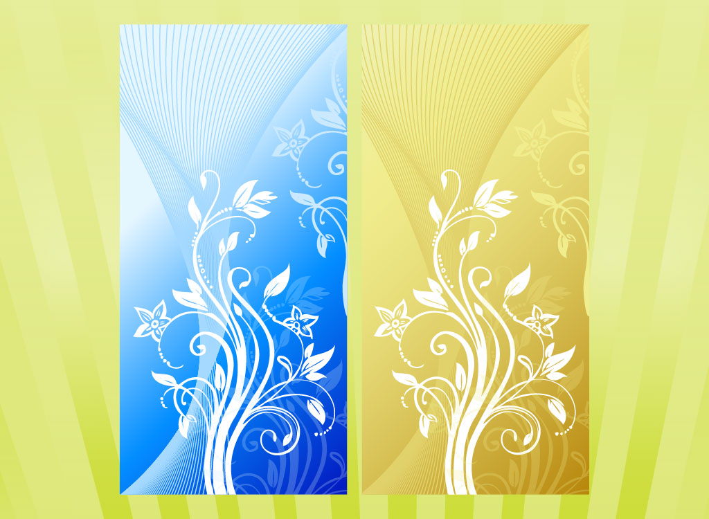 Vertical Floral Designs - vertical designs