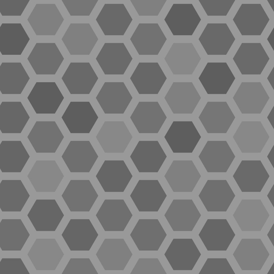 Black And White Wallpaper Bedroom Ideas Honeycomb Hexagonal Tiles Vector Tiles