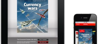 The Economist iPad and iPhone