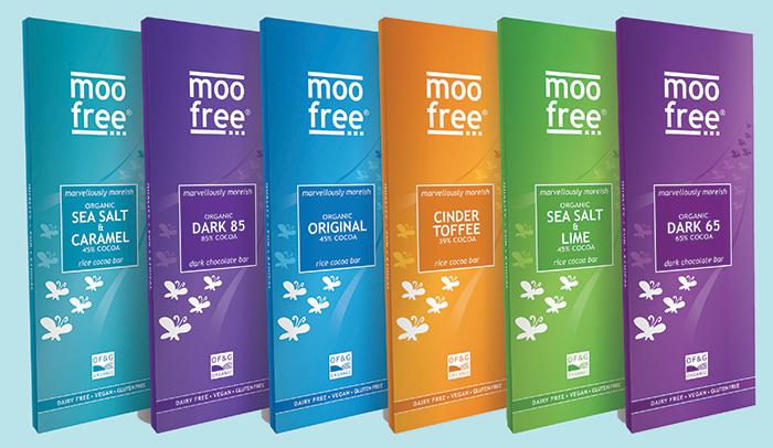 Moo Free launches new range of premium vegan chocolate bars for