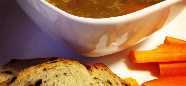 Hearty Vegan Lentil Soup with Veggies