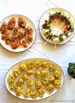 Small Of Food For Baby Shower