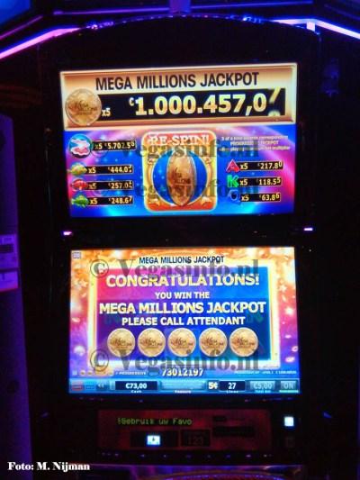 BREAKING: Vrouw wint hoogste gokkast jackpot ooit in Holland Casino Utrecht