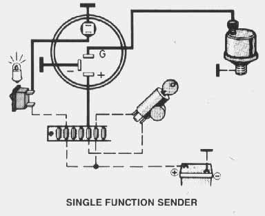 temperature sender wiring diagram