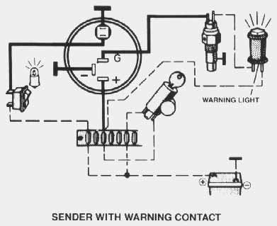 Oil Gauge Wiring Diagram - Wiring Diagrams