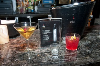 The cocktails.