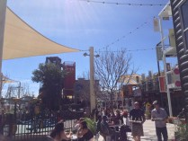 Central area of Container Park