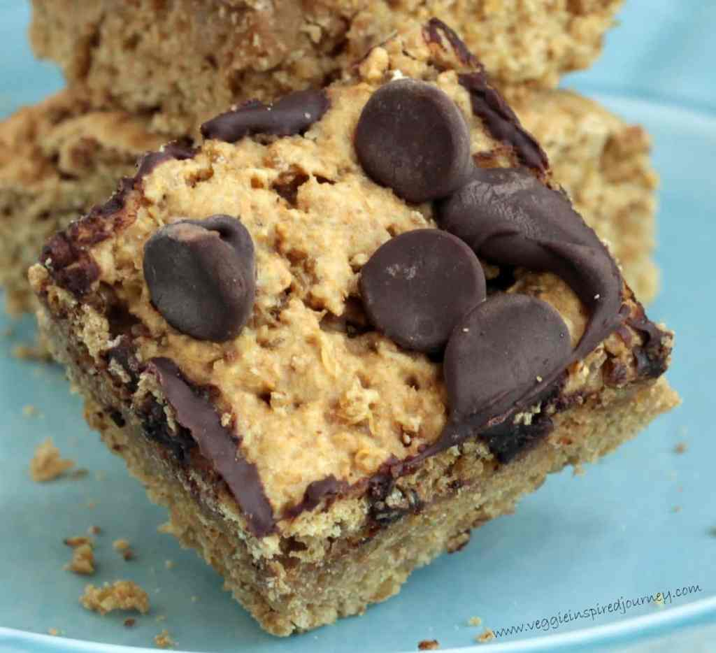 Chocolate Chip Quinoa Snack Cake ~ Veggie Inspired