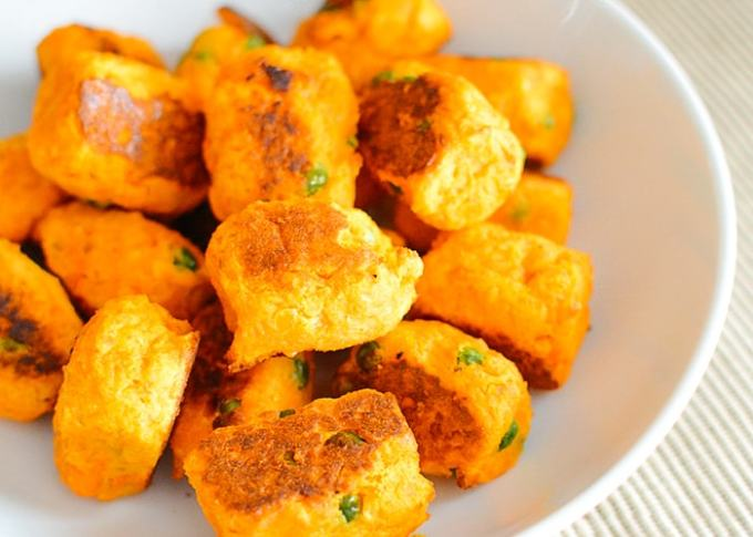 Receta de Croquetas Veganas Vegetarianas de Zanahoria