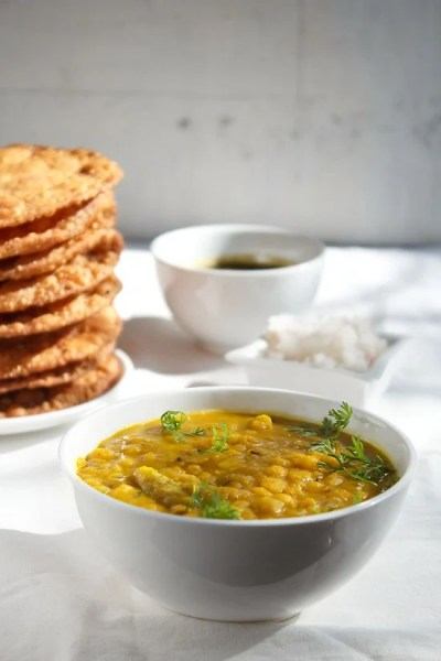 dal pakwan recipe, how to make dal pakwan recipe | sindhi ...