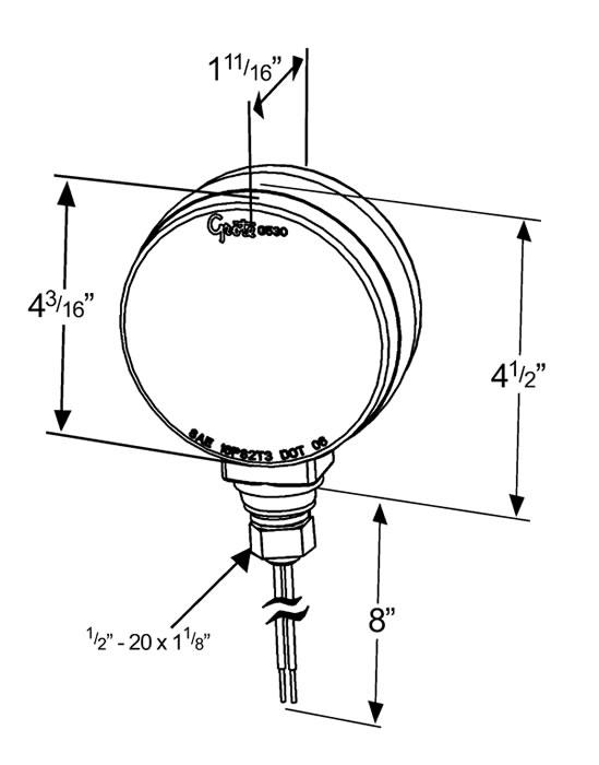 light wiring diagram on grote 5370 wiring diagram trailer lights