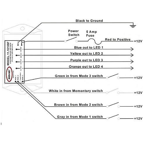 whelen led flasher wiring diagram