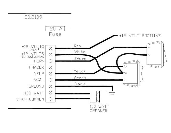 Whelen Siren Box Wiring Diagram Wiring Diagram