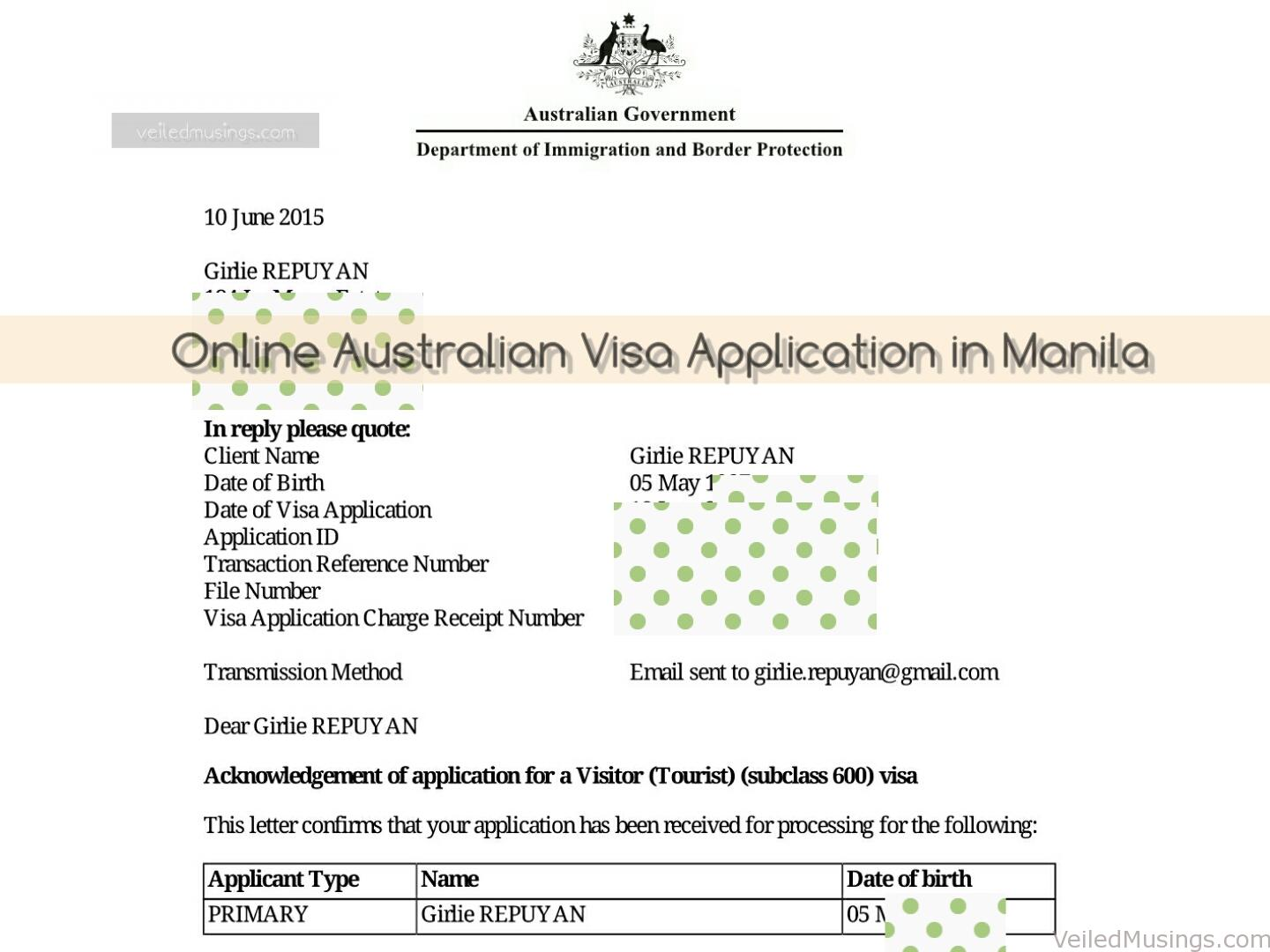 how to get australian visa in manila