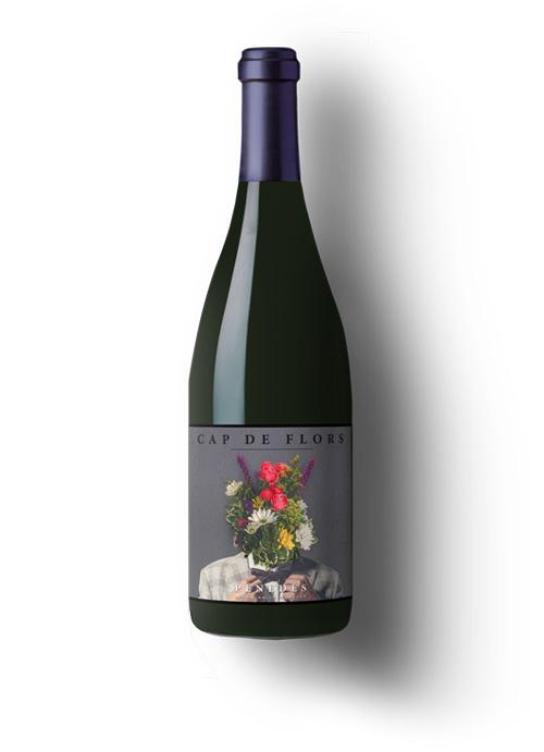 Diseño de etiqueta para vino Cap de Flors