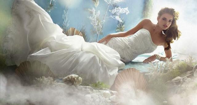 Vestidos de novia Disney - ARIEL
