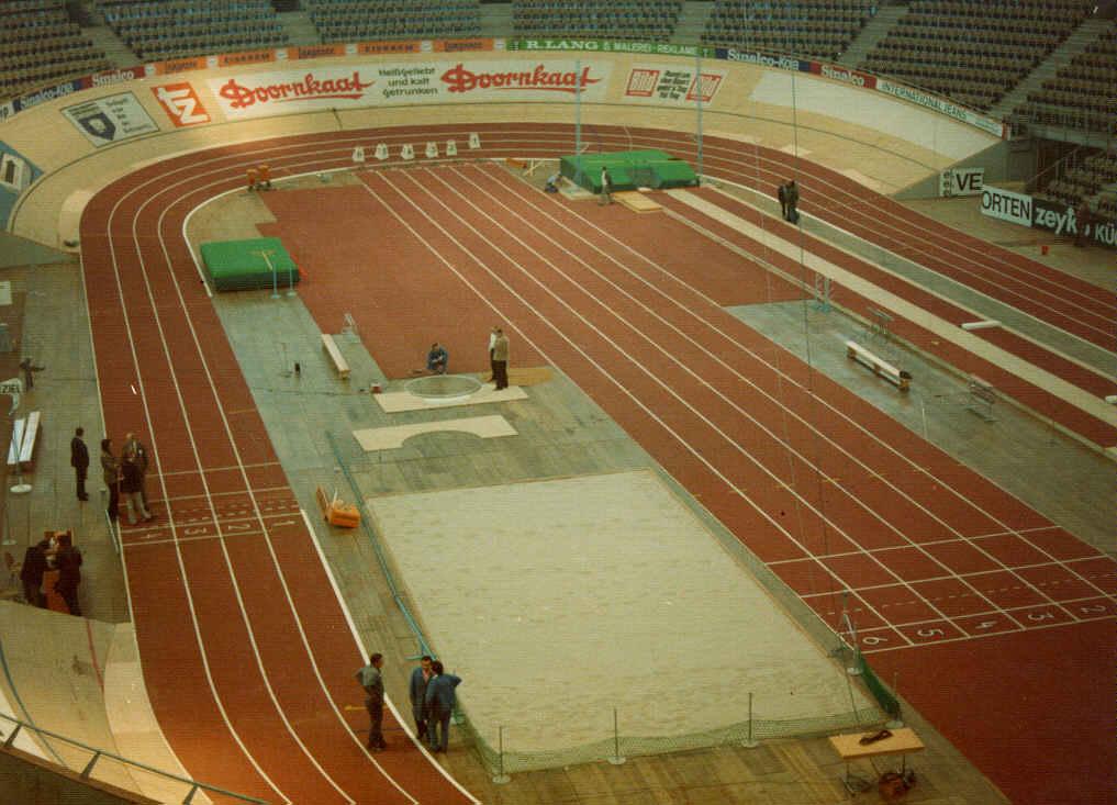 design of indoor athletics tracks
