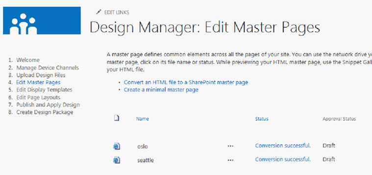 Tips to convert an HTML file into a Master Page in SharePoint 2013