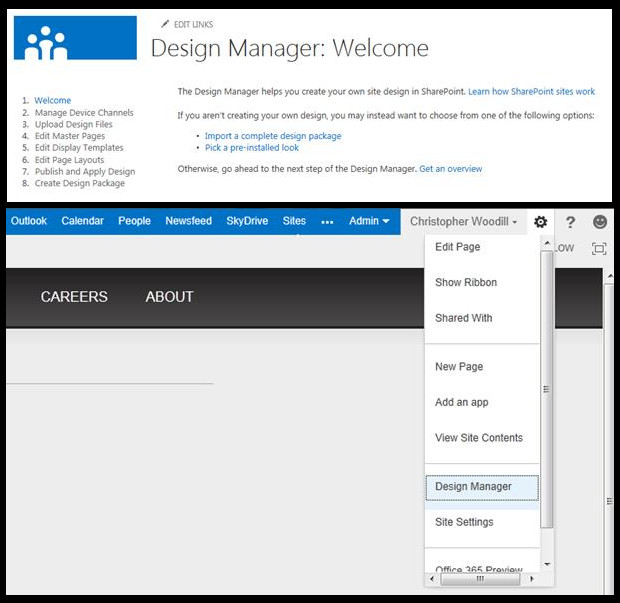 How to create a new Master Page in SharePoint 2013?