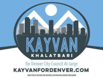 Kayvan For Denver: Campaign Branding